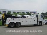 Sinotruk HOWO 6*4のレッカー車の回復トラック