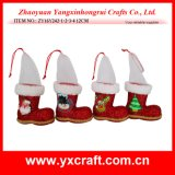 Carregador doce do Natal de feltro do presente do carregador do Natal da decoração do Natal (ZY16Y241-1-2-3-4 12.5CM)