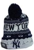 流行の編まれた冬のカスタムジャカード帽子(001)