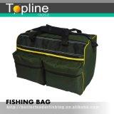 Valigia attrezzi verde scuro di pesca 600d