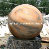 Granito Round Stone Fountain Floating Sphere/Ball per il giardino/patio