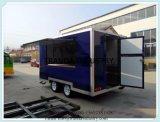 De richtende Snelle Aanhangwagen van het Voedsel van de Vrachtwagen van het Voedsel van de Straat van de Keuken van het Voedsel van de Levering Mobiele Mobiele
