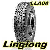 Pneumático radial R22.5 R20 do caminhão da moeda do dobro do triângulo de Giti Aeolus Linglong