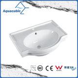 Dispersore di lavaggio Semi-Messo del Governo della stanza da bagno della mano di ceramica del bacino (ACB5045A)
