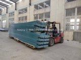 El material para techos acanalado del color de la fibra de vidrio del panel de FRP/del vidrio de fibra artesona W172031