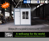 Дом контейнера Wellcamp легкая установленная портативная расширяемый