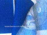 공장 생성은 디자인에 의하여 인쇄된 Microfiber 탄력 있는 목 관 다기능 담황색 스카프를 주문을 받아서 만들었다