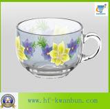 Birra piacevole del fiore & tazza di tè stabilita della tazza di vetro del caffè