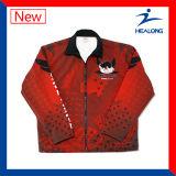高品質のHealongのスポーツ・ウェアのデジタルプリント長い採取のジャージー