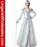 Usager de Veille de la toussaint des femmes de luxe le costume de robe de Cosplay de fantaisie de la Reine