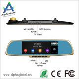 "7 "" Gedankenstrich-Kamera des Auto-DVR manuelle des Spiegel-H. 264 androide GPS-Navigation Bluetooth FM"