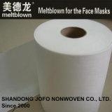niet-geweven Stof 28GSM Meltblown voor de Maskers van het Ziekenhuis Pfe98