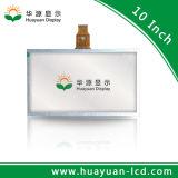 Monitor del tacto del LCD de 10.1 pulgadas con la tarjeta elegante
