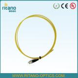データ椎体のためのRoHS CompliantsのFC/Upc Sm 9/125のシンプレックス2.0mm LSZH光ファイバブレイクアウトのピグテール