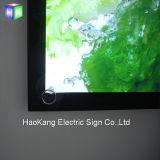 Panneau de signe éclairé à contre-jour par DEL de cadre léger de bâti d'affiche d'aluminium pour le signe d'étalage d'aliments de préparation rapide de menu