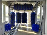 Máquina completamente automática del vapor del equipo de sistema de la lavadora del coche del túnel para los cepillos rápidos del lavado 7 de la fábrica de la fabricación de la limpieza