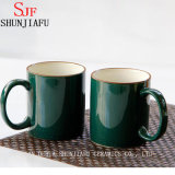 Taza de café múltiple de cerámica de la taza de té del color del hogar creativo del arreglo para requisitos particulares