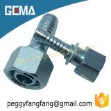 Accessorio per tubi adatto idraulico del filetto femminile dei 20611 di Dki 60 del cono femminile metrico del cono della parte girevole della noce capezzoli del tubo flessibile