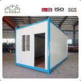 Casa económica prefabricada ligera del envase de la estructura de acero