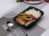 Contenitore di memoria a gettare BPA-Libero dell'alimento di Plasitc dei contenitori della preparazione del pasto (22oz)