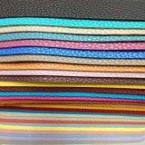 핸드백과 단화 Hsk001를 위한 다채로운 연약한 Lichee 패턴 PU 가죽