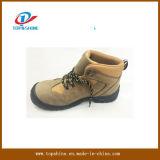 Il lavoro delle calzature di sicurezza del cuoio della pelle scamosciata di alta qualità caric il sistemaare i pattini