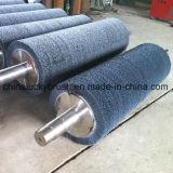 Латунная Coated щетка ролика стального провода (YY-187)