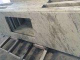 Partie supérieure du comptoir blanche de granit d'Andromeda pour la cuisine et Bath