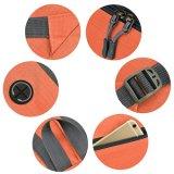 방수 Foldable 옥외 책가방 부대 나일론 직물 다중 격실 여행 책가방