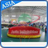 Sofà pazzesco gonfiabile, UFO pazzesco gonfiabile Towables, giocattoli gonfiabili di sport per i giochi dell'acqua