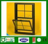Único Windows pendurado de alumínio com projeto da grade