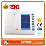 Medische Apparatuur 6 van het Ziekenhuis van de Apparatuur de Machine ECG van het ELECTROCARDIOGRAM van het Kanaal (Elektrocardiograaf)
