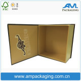 Besoué Dongguan Humen Paperboard Made Luxury Clamshell Shape Cigar Box