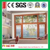 Алюминиевое окно Casement с аттестацией Ce