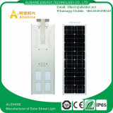 Lumière solaire extérieure neuve Integrated de jardin de 50W DEL avec la batterie au lithium