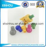 Bec de pulvérisation en plastique de clip de pipe de nettoyage de l'eau