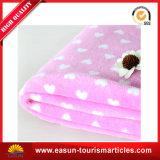 極度の柔らかい珊瑚の羊毛の赤ん坊毛布