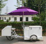 Ladung Trike mit Eiscreme-Gefriermaschine