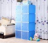 O gabinete útil moderno plástico de dobramento caçoa o Wardrobe do quarto