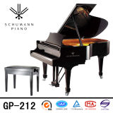 Piano à queue de clavier noir d'instruments de musique (GP-212) Schumann