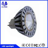 Lumière d'endroit de l'ÉPI GU10 DEL 2700k Dimmable DEL à C.A. d'AC120V 230V Driverless 6W