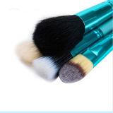 jogo de escovas cosmético portátil do cabelo macio diferente do cilindro da cor 12PCS