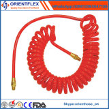 Boyau en nylon de spirale de tube de PA de bobine pneumatique de frein à air