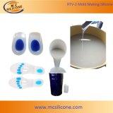 Vloeibare Silicone van de Rang van de Behandeling van het platina het Medische voor de Binnenzool van de Schoen