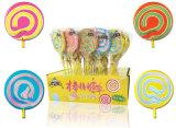 Caramelo duro del Lollipop del remolino para los niños