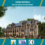 La casa moderna diseña el chalet ligero de la estructura de acero y la casa prefabricada del surtidor de China
