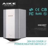 Fuerte automático de velocidad del viento Secador de Manos con el CE RoHS (AK2630)