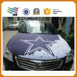 Tampa feita sob encomenda da capa do carro da tela elástica de Lycar para a bandeira da campanha