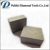 O segmento molhado do disco da estaca do diamante para o granito considerou