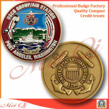 記念品のさまざまな形の両面の金属の硬貨